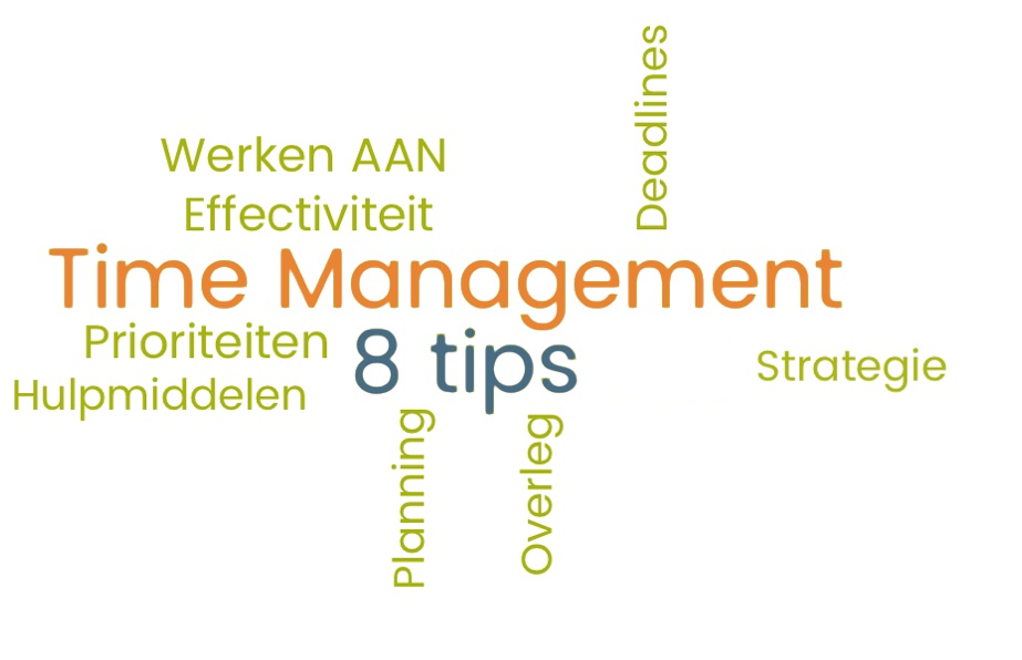 8 Hulpmiddelen: Timemanagement